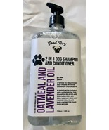 New Good Boy Oatmeal Lavender Oil 2-in-1 Dog Shampoo Conditioner Home & ... - $29.99