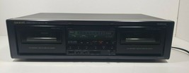 Onkyo Stereo Cassette Tape Deck TA-RW303 Tested image 1