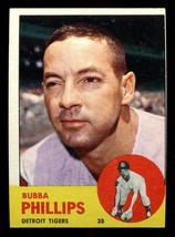 1963 Topps #177 Bubba Phillips NRMT Tigers *2333* - $2.63