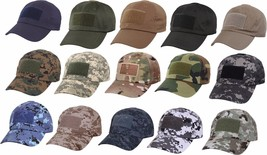 Military Operator Cap Low Profile Adjustable Tactical Army Baseball Hat - $8.99+