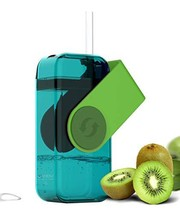 asobu Juicy Drink Box The Ultimate Unbreakable Reusable 10oz Water Bottl... - $246,83 MXN
