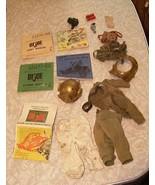 GI Joe G.I. Joe Manuals & Accessories Lot Diving Helmet + More - £33.89 GBP