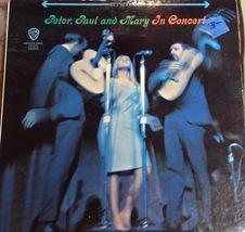 Peter Paul & Mary In Concert 1964 Original Vinyl LP Record Album Set 2WS... - $28.66