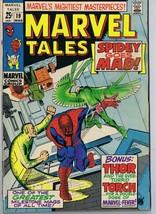 Marvel Tales #19 ORIGINAL Vintage 1969 Spider-Man Thor Human Torch - $13.99