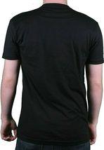 I Love You But ' Ve Chosen Techno Nero da Uomo T-shirt Con Scollo A V Taglia:XL image 3
