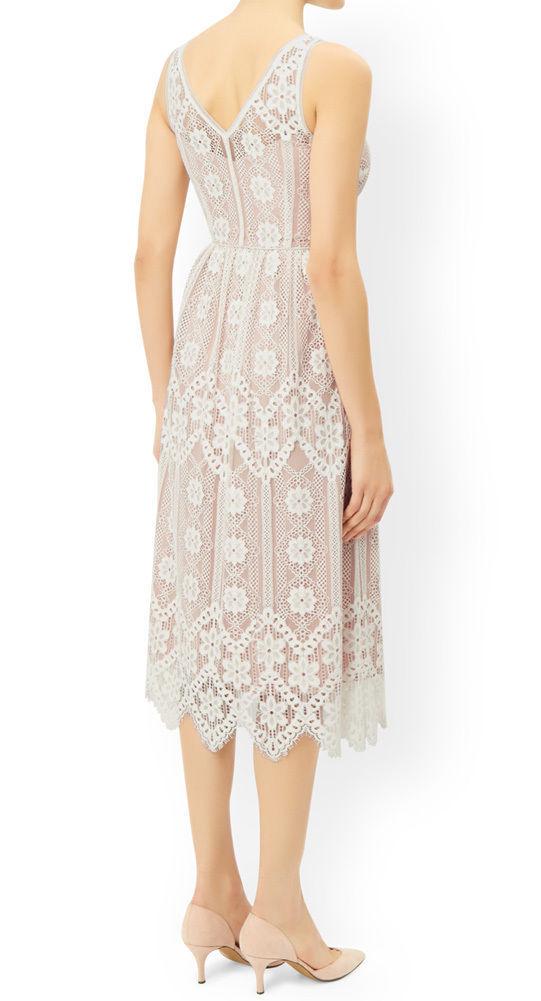 MONSOON Heather Lace Dress Size UK 16 BNWT image 2