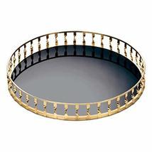 Accent Plus Gold Twist Mirrored Tray 15x15x2 - $49.44