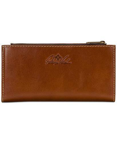 New Womens Patrica Nash Selva Heritage Tan Leather Wallet