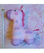 2013 Fisher-Price Soothe & Glow Giraffe, Pink • pre-owned • works • play... - $16.94