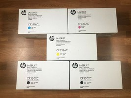 HP 654A LaserJet CMY & 654X KK Print Cartridge Set For M651 SAME DAY SHI... - $1,009.80