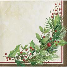 Winter Wreath 2 Ply Beverage Napkin, Case of 192 - €32,57 EUR