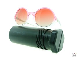 ic! berlin Sunglasses Ever So Hip Pearl Rose Clear / Red Clear Round Frames - $95.79