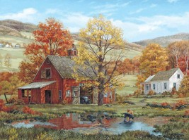 White Mountain Puzzles Friends in Autumn - 1000 Piece Jigsaw Puzzle - $17.73