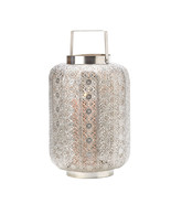Polished Silver Lace Design Lamp 10015277 - $52.12