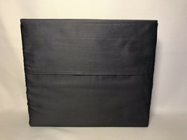 Calvin Klein Home  100% Combed Cotton FULL Sheet Set DARK GRAY W/ A Hint... - $59.39