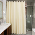PEVA transparent matte shower curtain waterproof mildew shower curtains high-qua