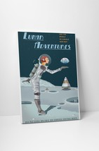 """Lunar Adventures by Steve Thomas Gallery Wrapped Canvas 16""""x20"""" - $44.50"""