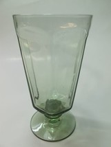 Lenox Green Antique pattern beverage glass lead Crystal Made in USA - $8.60