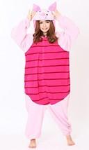 Japanese Kigurumi Fleece Costume for Adult Disney Winnie the Pooh Piglet... - $184.66