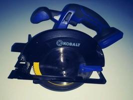 "Kobalt K18LC-26A 18v 20V Lithium-Ion Cordless Circular Saw 4500RPM 5 1/2"" - $54.45"