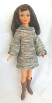 "Tiffany Taylor 1970's Ideal Fashion Doll 18"" Hair Changes Color Vintage Crissy - $23.00"