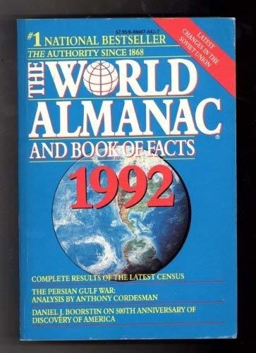 World Almanac and Book of Facts 1992 (World Almanac & Book of Facts) [Nov 01, 19