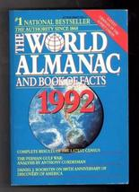 World Almanac and Book of Facts 1992 (World Almanac & Book of Facts) [No... - $1.99
