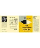 Ray Bradbury GOLDEN APPLES OF THE SUN facsimile dust jacket for first ed... - $22.54