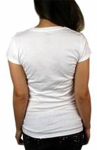 NEW NWT LEVI'S WOMEN'S PREMIUM CLASSIC GRAPHIC COTTON T-SHIRT SHIRT TEE WHITE image 2