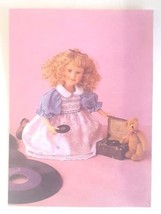 """Boyds Yesterdays Child """"Andrea with LP""""- #4822- 12"""" Doll- 2001 - $69.99"""