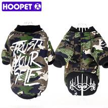HOOPET® New Pet Dogs Clothes Warm Cotton Leisure Style Autumn Winter Jac... - $9.18+