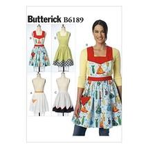 Butterick Patterns 6189 OSZ Misses Aprons by Butterick Patterns - $14.70