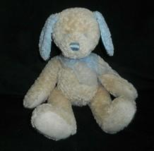 FIRST & MAIN SOFTSTUFF 2324 TAN & BLUE BABY PUPPY DOG STUFFED ANIMAL PLU... - $28.05