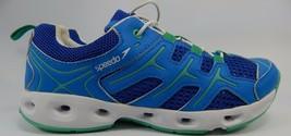 Speedo Cómodo Mujer Agua Zapatos Talla Us 6M (B) Eu 37 Azul Blanco E00045