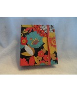 Vera Bradley Pocket Traveler book in Happy Snails 4 x 4.75 x 1 - $9.50