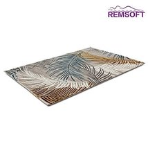 Feather Pattern PP & Acrylic Mixed Material Living Room Rugs - $129.00