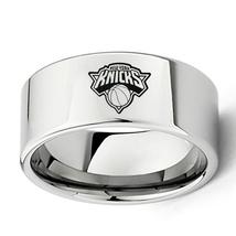 New York Knicks Basket Ball Team Logo Tungsten Carbide Comfort Fit Ring D6 - $32.99