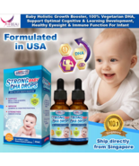 2 boxes US Clinicals Strong Baby DHA Drops Infant's Cognitive,Eyesight&I... - $184.99