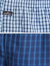 Jockey Dark Assorted Checks Boxer Shorts Underwear Pack of 2  cotton Sty... - $29.44+