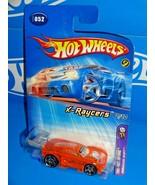 Hot Wheels 2005 First Editions X-Raycers #52 Paradigm Shift Orange w/ PR5s - $3.00