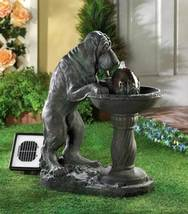 14769 SHIPS FREE Cascading Fountains Solar Outdoor Thirsty Dog Fountain - $199.62