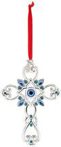 Lenox 870939  Annual Silver Ornaments 2017 Gemmed Cross-7th Edition - $117.70