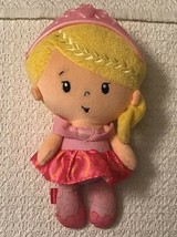 Fisher Price PRINCESS CHIME DOLL - Squeeze Or Shake for Chime Sounds, CGN68 - $10.89