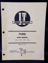 I&T FORD MODELS 2810, 2910, AND 3910 SHOP MANUAL # FO-43 - $24.70