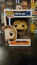 Funko Pop! Television Doctor Who River Song #296 Vinyl Figure WITH PROTE... - ₹2,091.38 INR