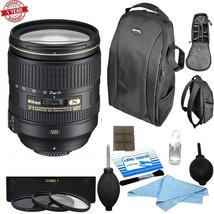 Nikon AF-S NIKKOR 24-120mm f/4G ED VR Lens (White Box) w/ Backpack & Mor... - $870.21