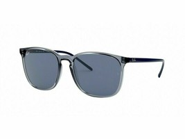 NEW Ray Ban RB4387-639980 Blue Sunglasses - $113.05