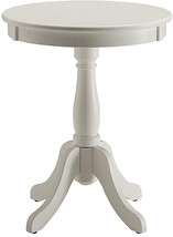 Acme Furniture 82804 Alger Side Table, White, One Size - $79.70