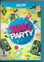 Sing Party (Nintendo Wii U, 2012) No Microphone. - $8.15