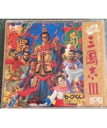 PC Engine Super CD Rom Sangokushi III - $12.87